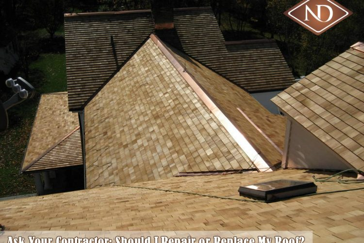 Ask Your Contractor: Should I Repair or Replace My Roof?