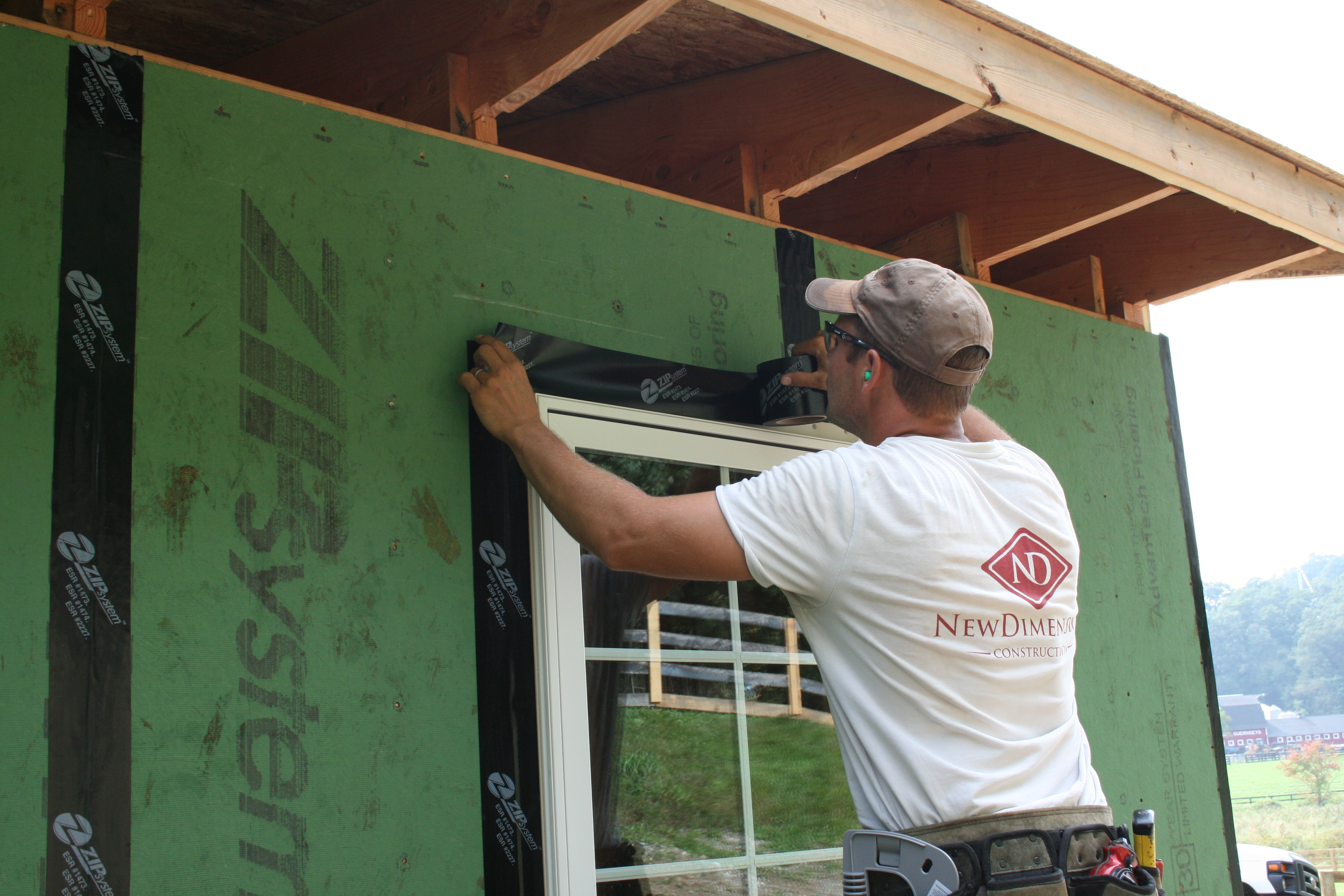 Using Insulated Sheathing To Build An Airtight Home New