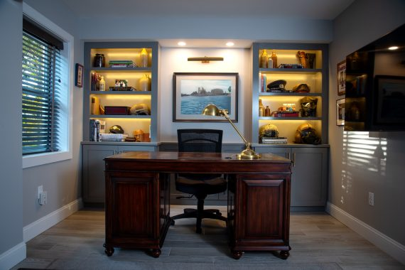 Home Office, Pleasant Valley Renovation