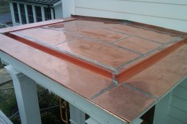 Dutchess County Copper Roof