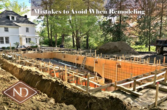 Home Remodeling Mistakes to Avoid
