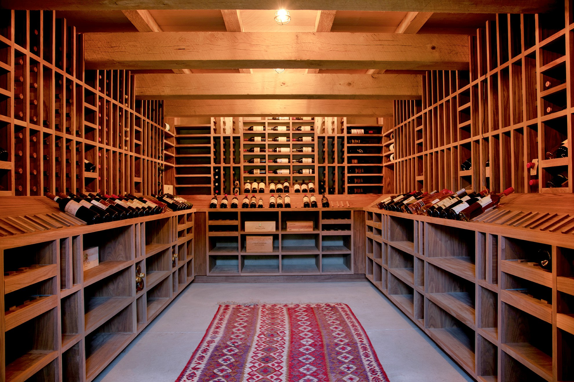 Wine room Hudson Valley