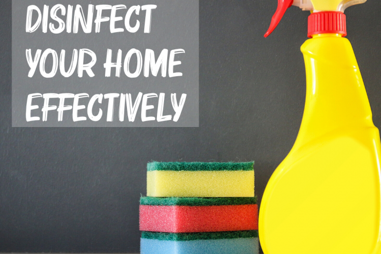 5 Tips to Disinfect Your Home Effectively
