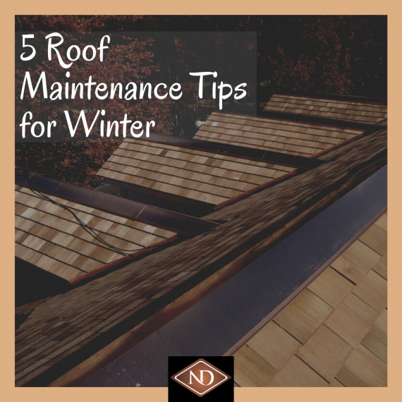 5 Roof Maintenance Tips for winter