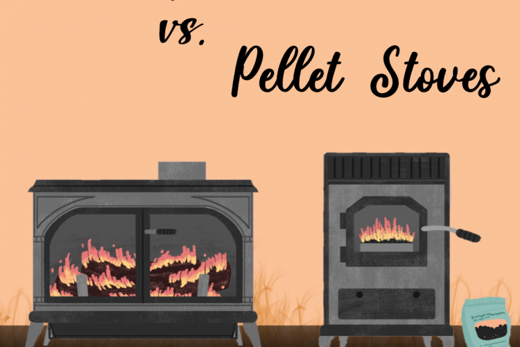 Wood vs. Pellet Stoves