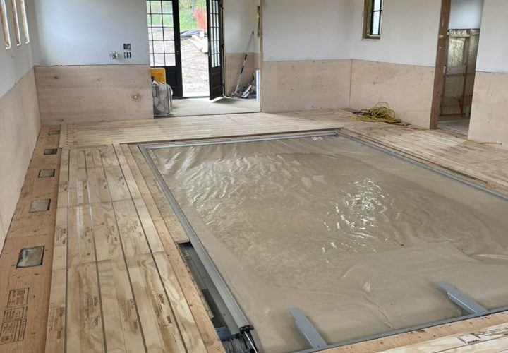 Installing Radiant Heated Floors in your Home